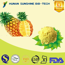 Fresh Fruit Plant Pineapple Powder Applied in drink mix