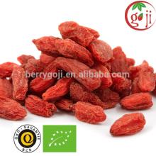 Certificate organic goji berries good for sex