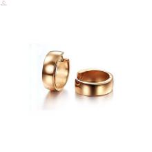Fashion exotic earrings,rose gold slide earring for women