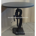 industrial crank bar table