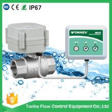 Vanne automatique d'arrêt d'eau pour le contrôle de la fuite d'eau