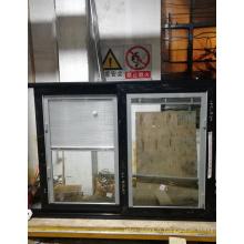 Fenêtre coulissante en aluminium Cadre en aluminium avec stores à l'intérieur