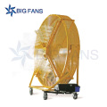 Big Size Mobile Industrial Fan High Quality Low Power Portable DC Stand Fan Prices