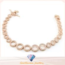 China Precio de fábrica al por mayor de la joyería de moda serie de pulsera de círculo para Lady Gift 925 pulsera de plata esterlina Bt6599