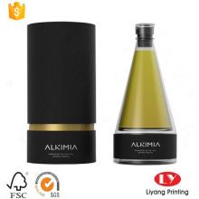 Round Paper Tube Perfume Packaging Gift Box