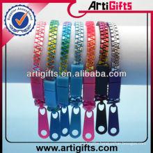 Wholesale colorful plastic chain bracelet