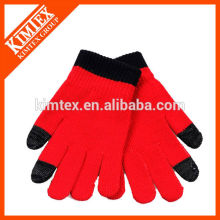 Fashion knitted acrylic texting gloves