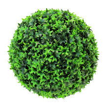 Wholesale natural look cheap artificial boxwood topiary ball