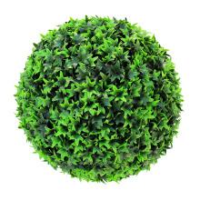 Оптовая естественный вид дешевые искусственный самшит подстриженными мяч