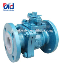 Lever Operated Locking With Key Argu Pvc Wcb 150lb Din Cast Steel Floating Ball Valve Manufacturer