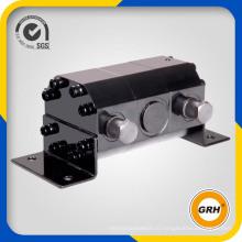 Роторный синхронный делитель потока с гидравлическим мотор-редуктором