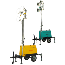 Mobile Light Tower 9KVA
