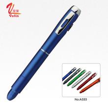 Модные многофункциональные пластиковые ручки Рекламные пластиковые светодиодные ручки