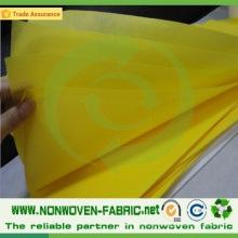 Tecido não tecido usado para toalha de mesa
