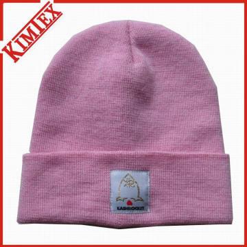 100% acrílico Promoção malha Crochet Hat