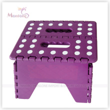 Chaise pliante colorée en plastique de 25 * 21 * 21cm