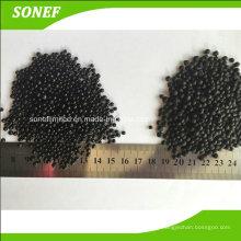 Fabrication d'engrais organique / granulométrie de sol