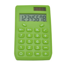 Calculadora de bolsillo de diseño simple de doble potencia