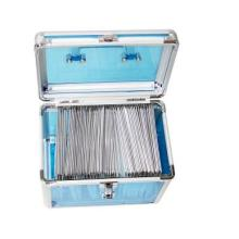 China Precio de fábrica Negro Aluminio DJ Caja de almacenamiento