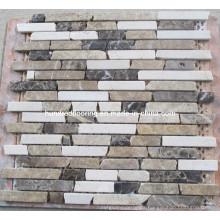 Strip Natural Marble Stone Mosaic (HSM128)