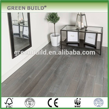 Grey color different size solid oak wooden flooring