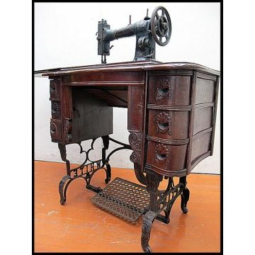 Dollhouse Miniature Treadle Sewing Machine