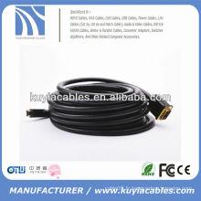 Câble DVI HDMI HDMI À HAUTE VITESSE MALE À MALE 10M
