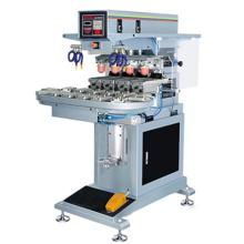 Semi automatique quatre couleur tapis Pad Printing Machine/Pad imprimante