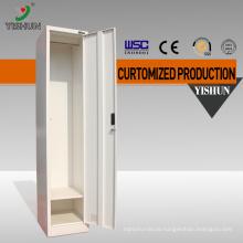 China elegant office furniture type single door cheap metal steel office locker cabinet