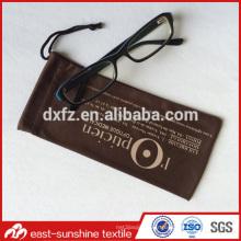 Pochette en lunette microfibre de qualité supérieure, pochette pour lunettes modulaires microfibres promotionnelles