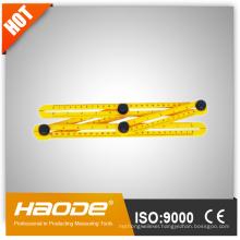 Flexible plastic folding ABS ruler