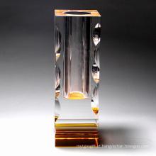 Vaso de flores, decoração de cristal (JD-HP-011)