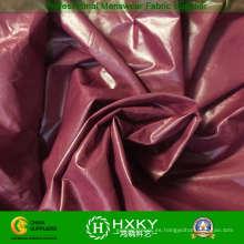 Tela de tafetán de nylon de alta densidad ultra brillante de 380 t