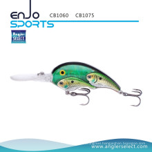 Angler Select Fishing Tackle School Fish Crankbait Lure with Bkk Treble Hooks (CB1075)