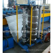 Máquina curvadora de láminas para techos vidriados en China