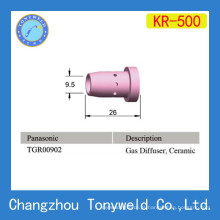 Panasonic KR 500 acessórios de pistola de soldagem difusor de gás