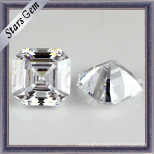 Write Gemstone Assacher Cut Cubic Zirconia