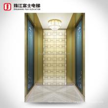 ZhuJiangFuji luxury residence elevator lift home elevator 2 floors 2 stops Villa lift with good price