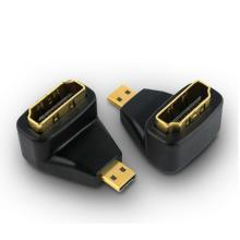 Micro HDMI mâle vers HDMI adaptateur femelle