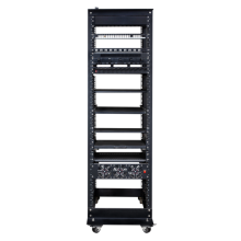 Server cabinet with good heat dissipation performance