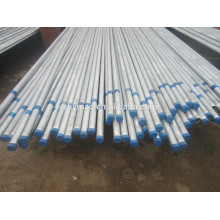 ERW tubulação galvanizada com acoplamentos