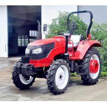 4 Wheel Drive 4x4 55HP Mini Wheel Farm Tractor