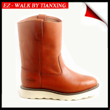WELLINGTON BOOTS WITH RUBBER OUTSOLE WELTED WORK BOOTS