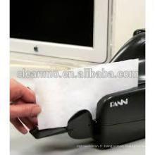 Vérifiez la carte de nettoyage de scanner, nettoyez le scanner de carte en plastique