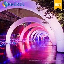Línea de iluminación LED de iluminación personalizada Línea de arco inflable Arcos de publicidad