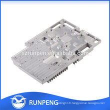 Customized precision cnc machine communication equipment parts