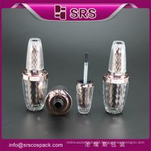SRS high quality cosmetic acrylic 8ml empty nail polish bottle