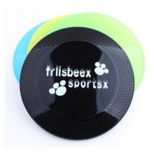 Frisbee plástico transparente do animal de estimação, plástico ambiental Frisbee do anúncio publicitário 22 Cm