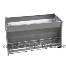 Alimentador del cerdo del metal del equipo del cerdo del lado doble