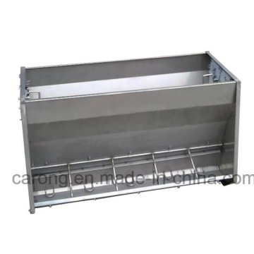Double Side Pig Equipment Metal Pig Feeder